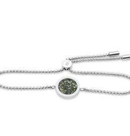 Dune Jewelry Travel Stack Bracelet - Zinnia Flower Petals