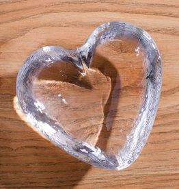 Simon Pearce Highgate Heart Engraved - Large
