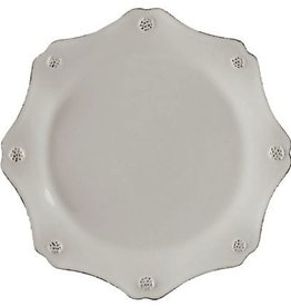 Juliska Berry and Thread Scallop Dessert/Salad Plate - Whitewash