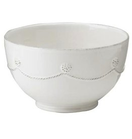 Juliska Berry and Thread Cereal/Ice Cream Bowl - Whitewash