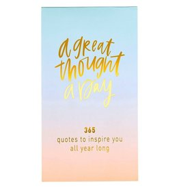 A Great Thought A Day Pad - Ombre